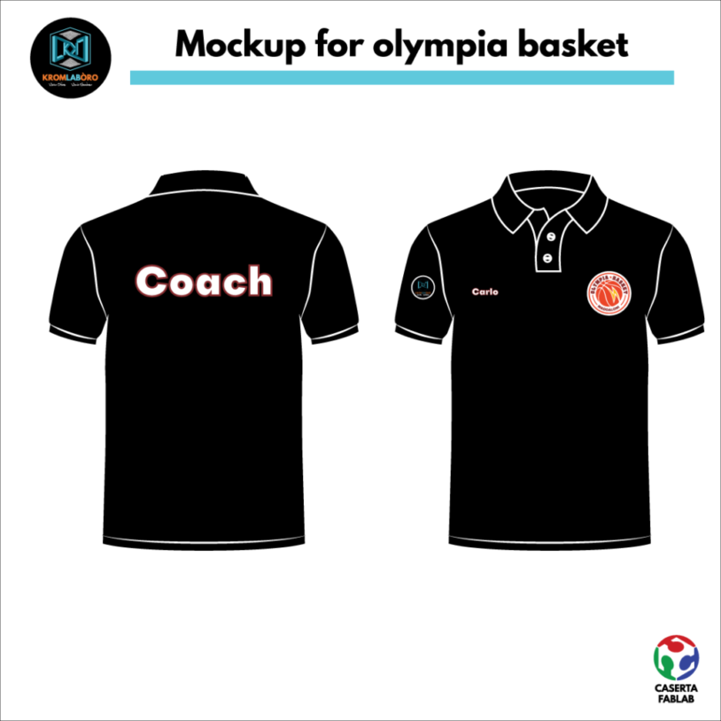 mockup Olympia basket