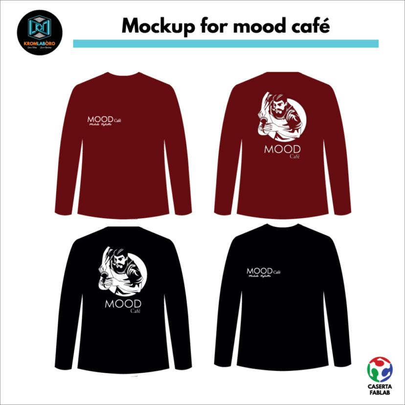 mockup mood cafè